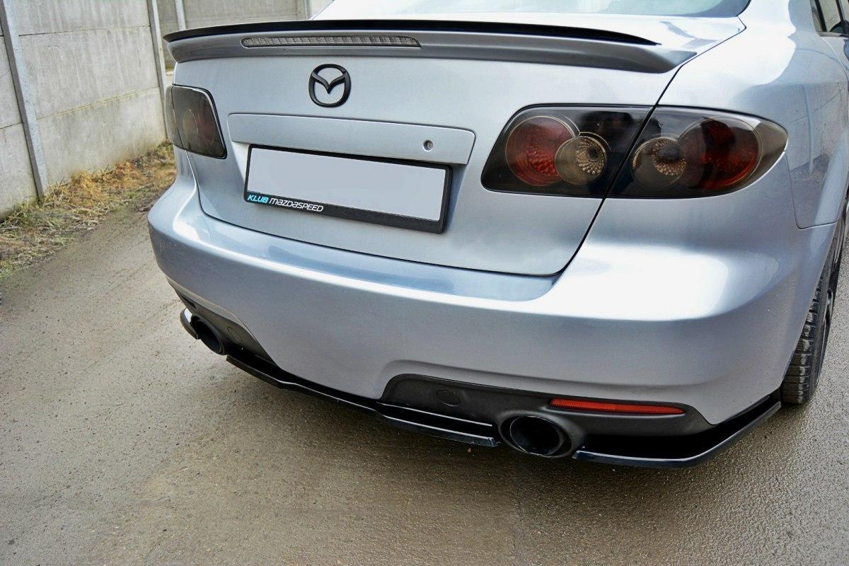 Splitter Tylny Środkowy Mazda 6 Mk1 MPS - GRUBYGARAGE - Sklep Tuningowy